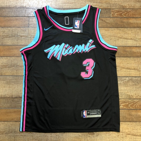 reputable site d64b8 94533 NWT Dwayne Wade Miami Heat NBA City Jersey NEW NWT